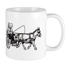 Pony and trap Small Mug