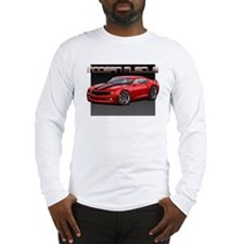 2010 Red Camaro Long Sleeve T-Shirt