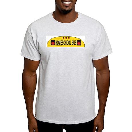 Homeschool Bus 2 Ash Grey T-Shirt