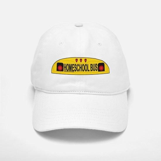 Homeschool Bus 2 Baseball Baseball Cap