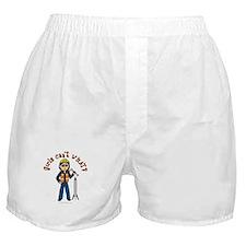 Light Rocket Scientist Boxer Shorts