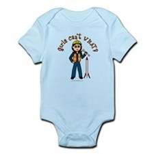 Light Rocket Scientist Infant Bodysuit