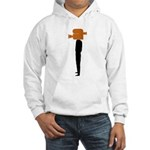 video head Hooded Sweatshirt