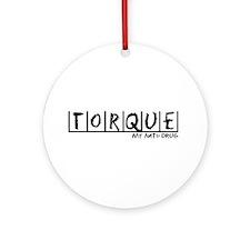 Torque Anti-Drug Ornament (Round)