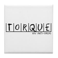 Torque Anti-Drug Tile Coaster