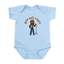 Dark Rocket Scientist Infant Bodysuit