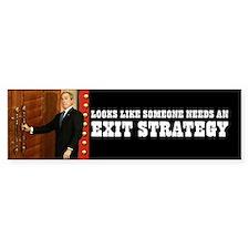 BUSH EXIT STRATEGY - bumpersticker