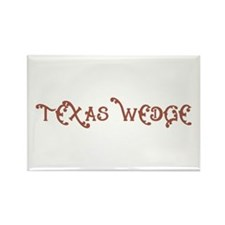 Texas Wedge Rectangle Magnet