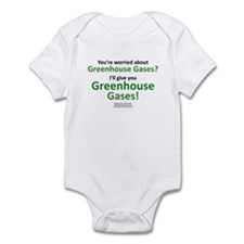 Cute Global warming climate change Infant Bodysuit