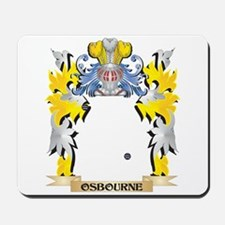 Osbourne- Family Crest - Coat of Arms Mousepad