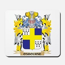 Osbourne Family Crest - Coat of Arms Mousepad