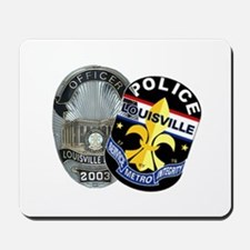 LMPD Patch and Badge Mousepad