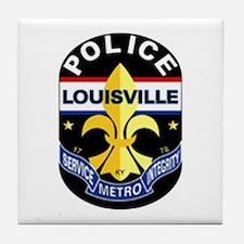 LMPD Patch Tile Coaster