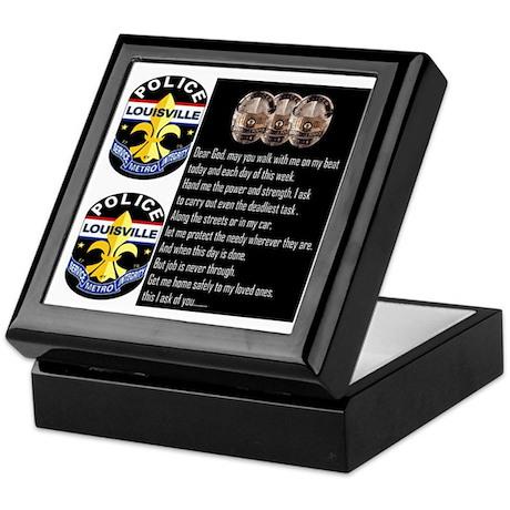 LMPD Prayer Keepsake Box