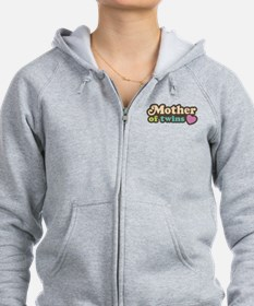 Mother of Twins Zip Hoodie
