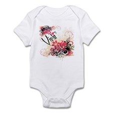Heart My Viola Infant Bodysuit