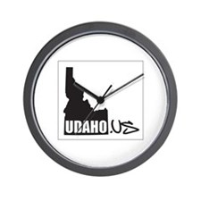UDAHO.US Logo Wall Clock