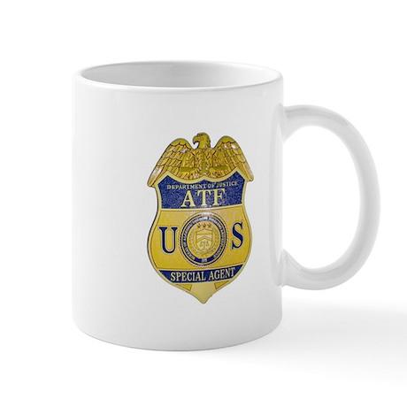 ATF Badge Mug