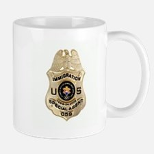Immigration Badge Mug