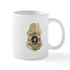 Immigration Badge Mug