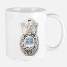 Airforce Security Police Badge Mug
