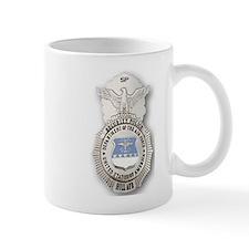 Airforce Security Police Badge Mug