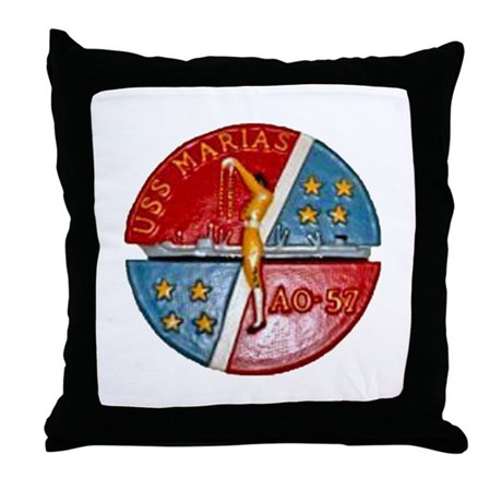 USS MARIAS Throw Pillow