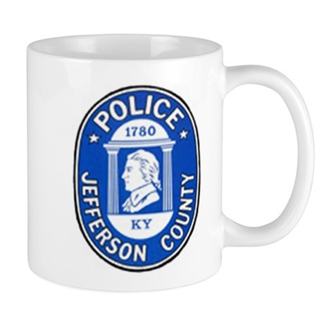 Old JCPD Mug