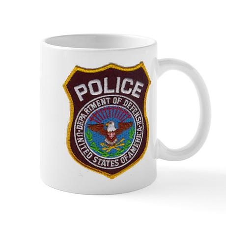 DOD Police Mug