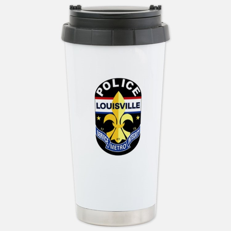 Cop Shop Stainless Steel Travel Mug