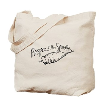 Respect the Spindle Tote Bag