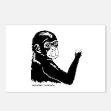 Cute Ape Postcards (Package of 8)