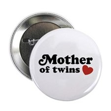 "Mother of Twins 2.25"" Button"
