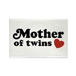 Mother of Twins Rectangle Magnet (10 pack)