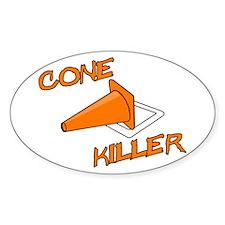 Cone Killer Decal