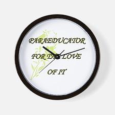 PARA Wall Clock