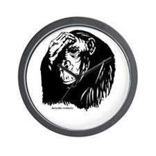 Unique Ape Wall Clock