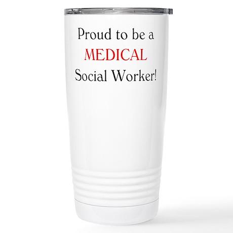 Proud Medical SW Stainless Steel Travel Mug
