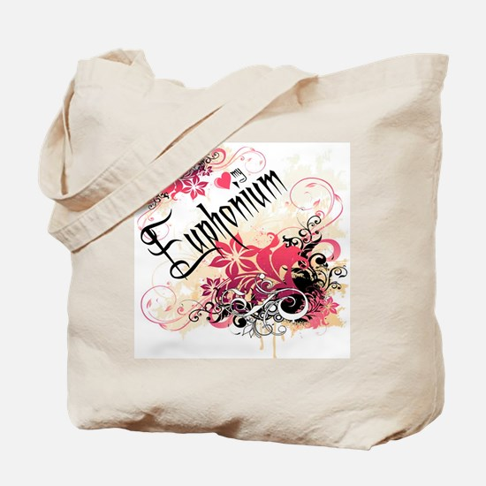 Heart My Euphonium Tote Bag