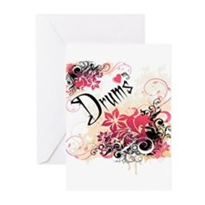 Heart My Drums Greeting Cards (Pk of 10)
