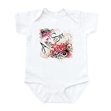 Heart My Alto Sax Infant Bodysuit