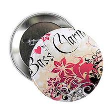 """Heart My Bass Clarinet 2.25"""" Button (10 pack)"""