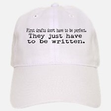 First Drafts Baseball Baseball Cap