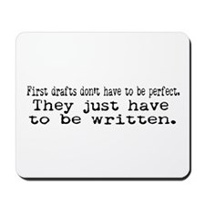First Drafts Mousepad