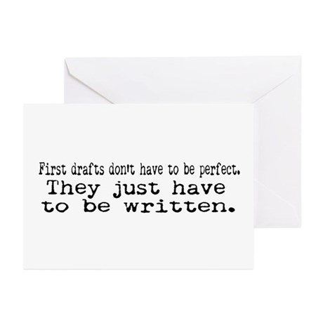 First Drafts Greeting Cards (Pk of 10)