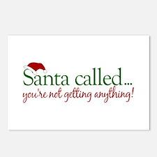 Santa Called Postcards (Package of 8)