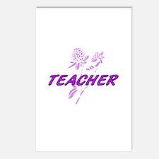 Cute My teacher rocks Postcards (Package of 8)