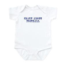 Crazy about Football Infant Bodysuit