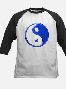 Blue Yin Yang Tee