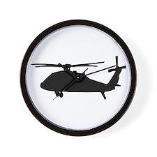 Cute Army black hawk Wall Clock
